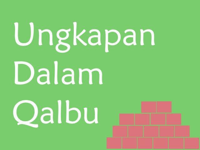 Novel Teenlit Ungkapan Dalam Qalbu