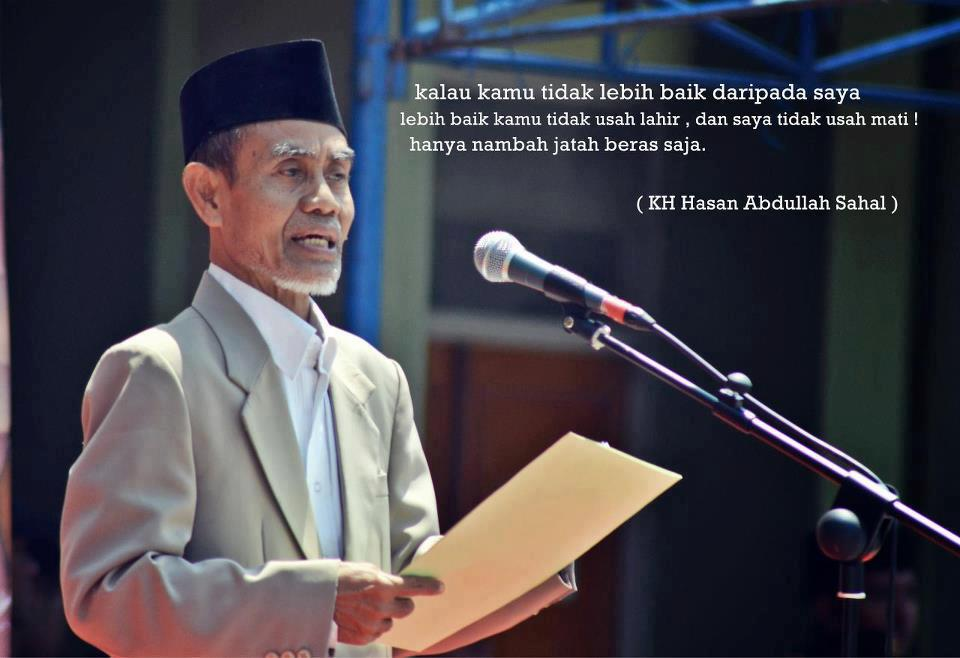 Nasihat Untuk Orang Tua Santri Pesantren Dari Kiyai Hasan A Sahal